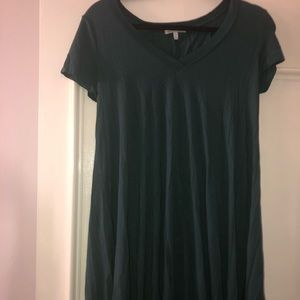 charlotte russe woman small green dress
